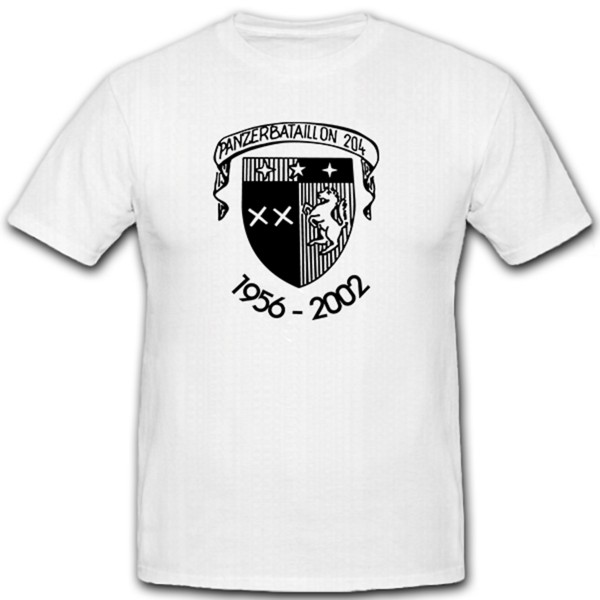 PzBtl 204 Panzerbataillon Panzer Bataillon 204 Deutschland - T Shirt #12157