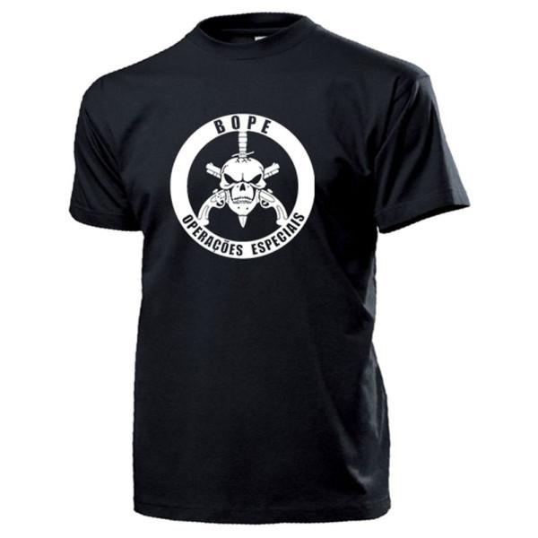 BOPE Batalhão de Operações Policiais Especiais Brasilien - T Shirt #14489