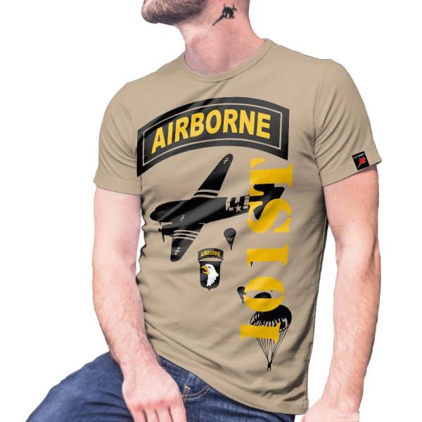 101st Ariborne Div Armee Einheit USA Fallschirmspringer T-Shirt#29080