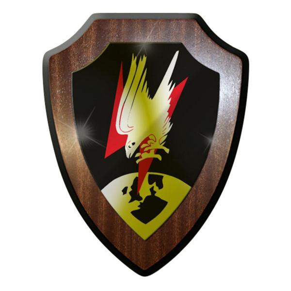 Wappenschild / Wandschild - Nachtjagdgeschwader NJG 1 WK 2 Luftwaffe Heer #8412