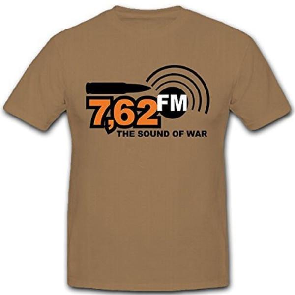 The Sound Of War Musik Sender Radio Bundeswehr Bund Bw Army - T Shirt #11313