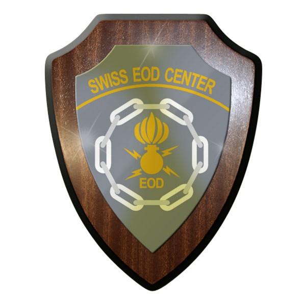 Wappenschild Swiss EOD Center Kompetenzzentrum ABC KAMIR der Armee #11922
