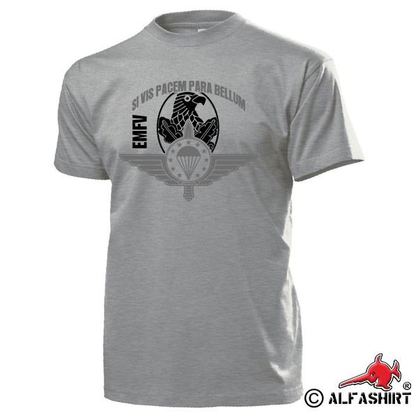 EMFV Sniper Europäischer Militär Fallschirmsprungverband Lehrgang T Shirt #17447