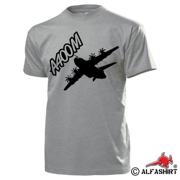 A400M aircraft BW military transport aircraft turboprop T Shirt # 15605