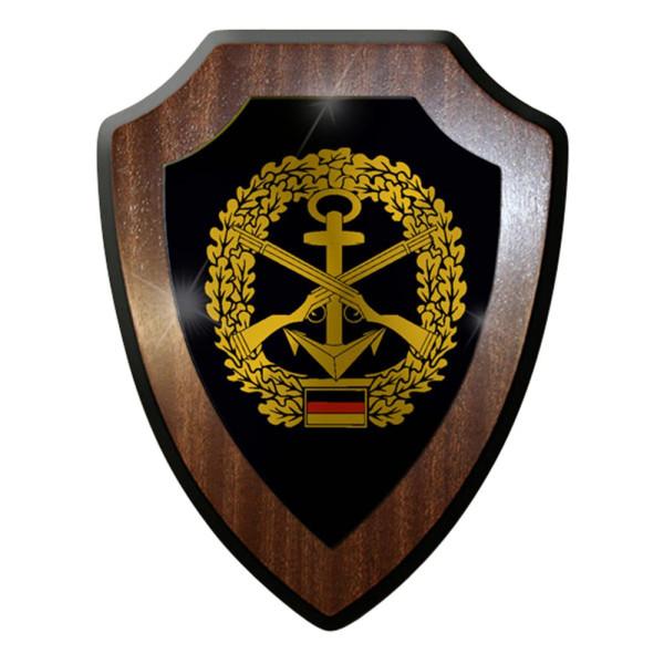 Wappenschild / Wandschild - Marinesicherung Abzeichen Emblem#7400