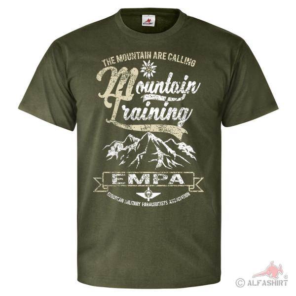 EMFV Mountain Training Alpen Europäischer Fallschrimsprungverband T Shirt #26096