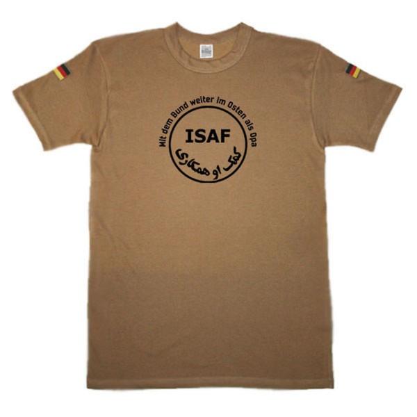 BW Tropen Mit dem Bund weiter im Osten als Opa ISAF original Tropenshirt #14699