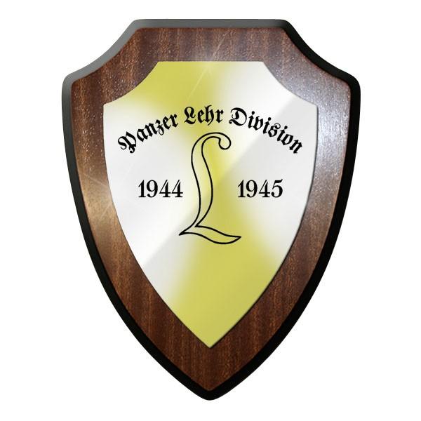 Wappenschild / Wandschild / Wappen Panzer Lehr Division 1944 45 PzLehrDiv #8999