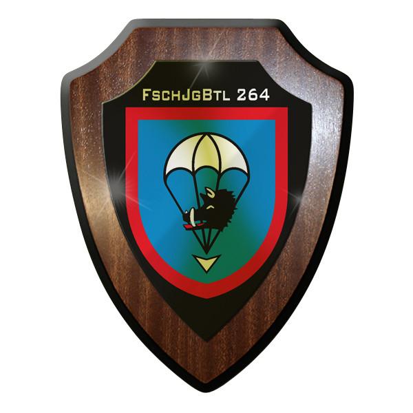 Wappenschild FschJgBtl 264 Jäger Bataillon Fallschrimjäger Saarlandbrigade #9257