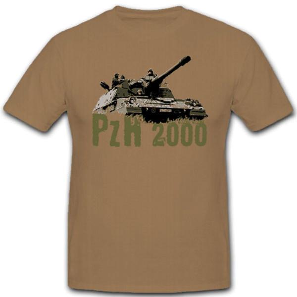 PzH 2000 Bundeswehr Bw Panzerhaubitze Artillerie - T Shirt #8748