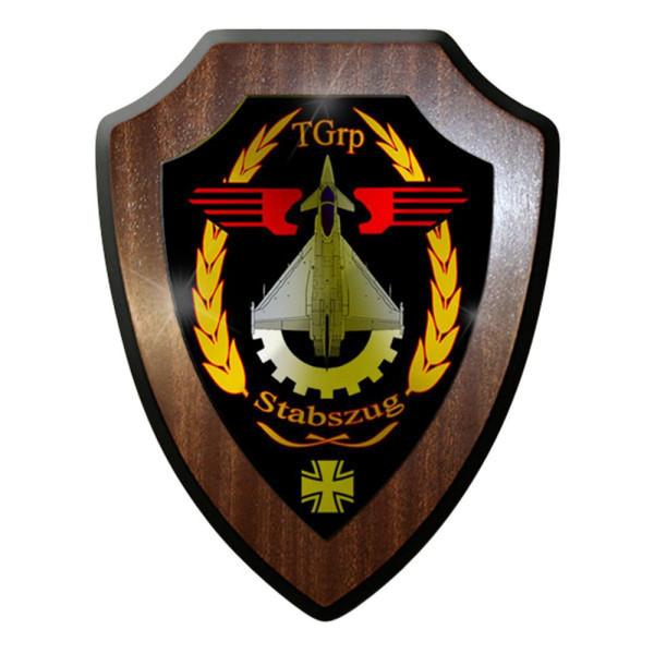 Wappenschild / Wandschild - TGrp Stabszug Luftwaffe Technische #12593