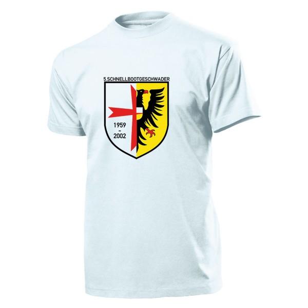 Schnellbootgeschwader 5 Bundesmarine Bundeswehr Militär Einheit T Shirt #1935