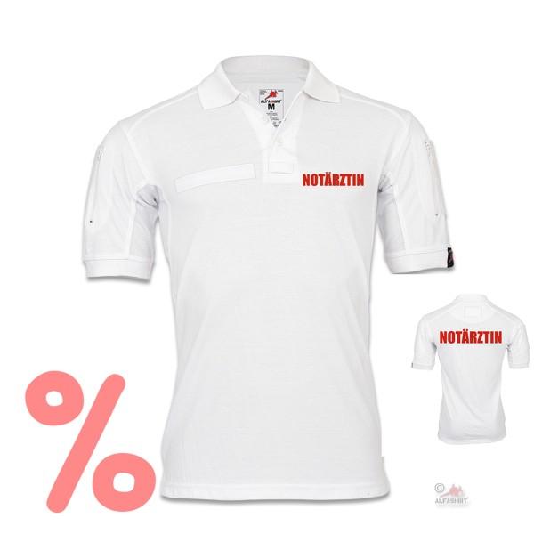 Gr. S - SALE Shirt Tactical Polo Notärtzin Doktorin Krankenhaus Bekleidung Hemd #R260