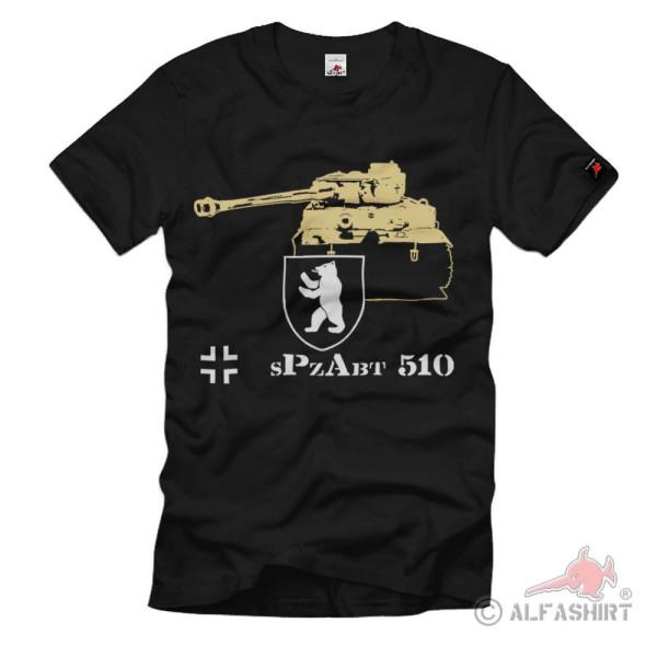 Spzabt 510 Schwere Panzer-Abteilung 510 WK Militär Wappen #1329