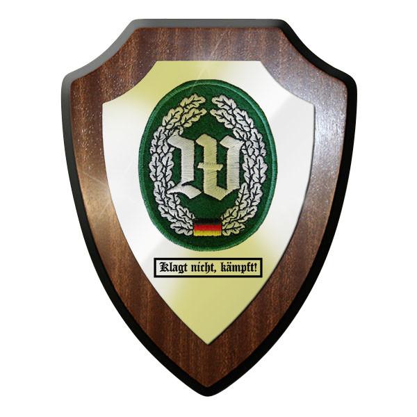 Wappenschild - Barettabzeichen Wachbataillon klagt nicht, kämpft! #11691