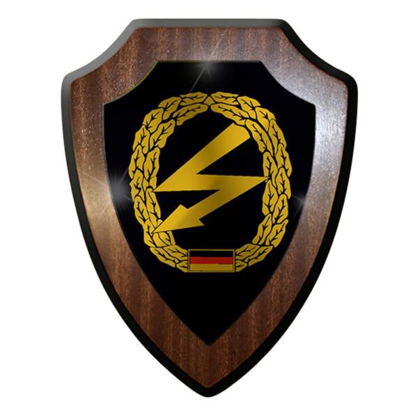 Wappenschild / Wandschild -Fernmelder Deutschland Bundeswehr #7426