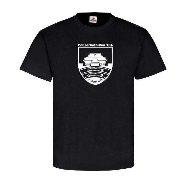 1 Kompanie Panzerbataillon 104 Kp PzBtl 104 Taktisches Zeichen T Shirt #12899
