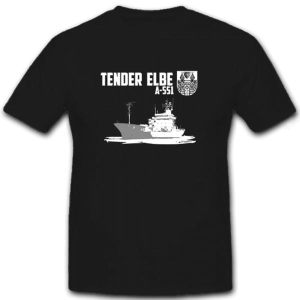 Tender Elbe A 511 Herta Schmidtborn DBZD DRHQ Bundesmarine - T Shirt #6509