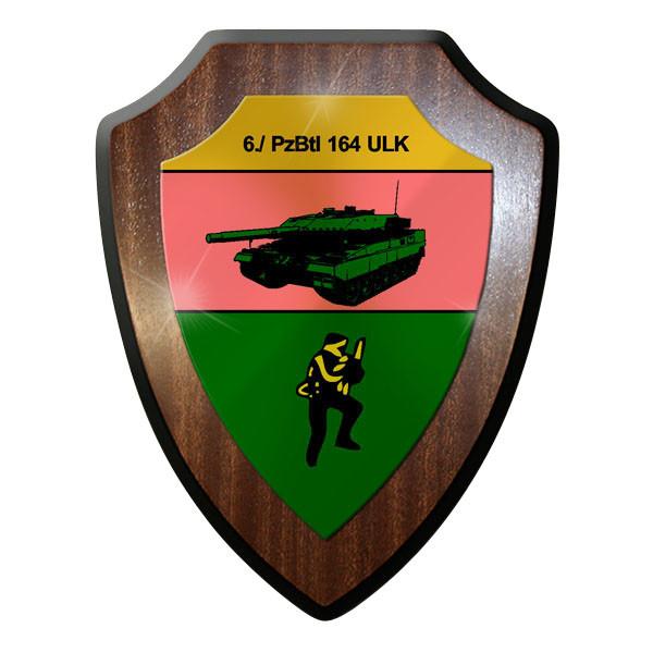 Wappenschild - 6. Panzerbataillon PzBtl 164 Bataillon Bundeswehr #11639