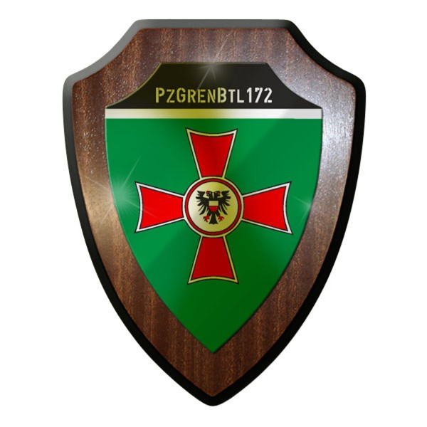 Wappenschild - PzGrenBtl 172 Panzergrenadierbataillon Panzer Grenadiere Bw #8866