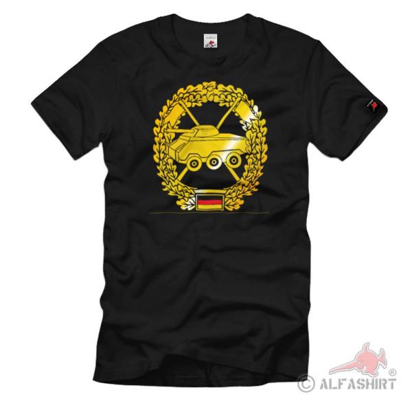Barettabzeichen Panzeraufklärer Pz Bundeswehr Einheit Emblem - T Shirt #1095