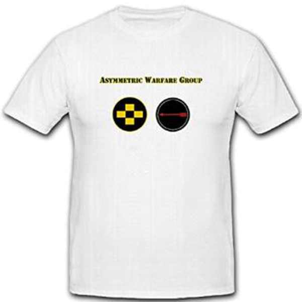 Asymmetric Warfare Group DUI - United States Army Special Mission T Shirt #11147