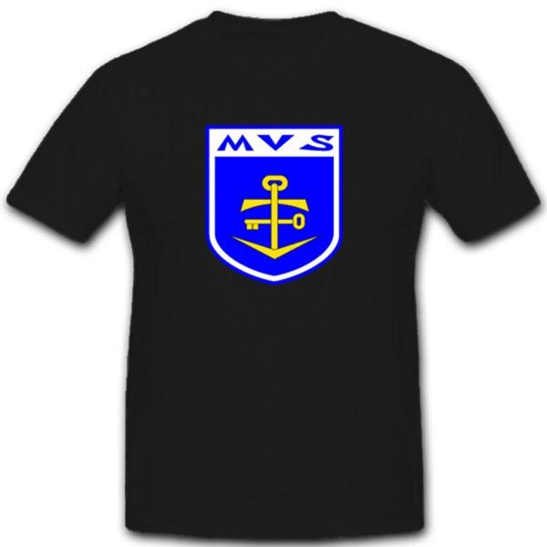 Marineversorgungsschule Bundeswehr Militär Einheit Wappen Marine - T Shirt #1933