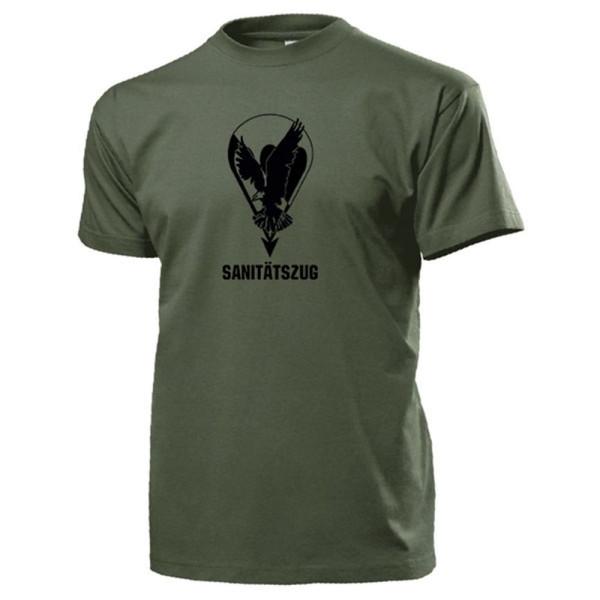 Sanitätszug FschJgBtl 373 Seedorf Fallschirmjäger Bataillon - T Shirt #13100