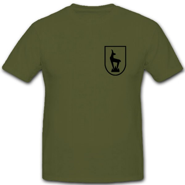 5 Gebirgs Division Gebirgsjäger Wappen Gams Logo Wh Wk - T Shirt #7493