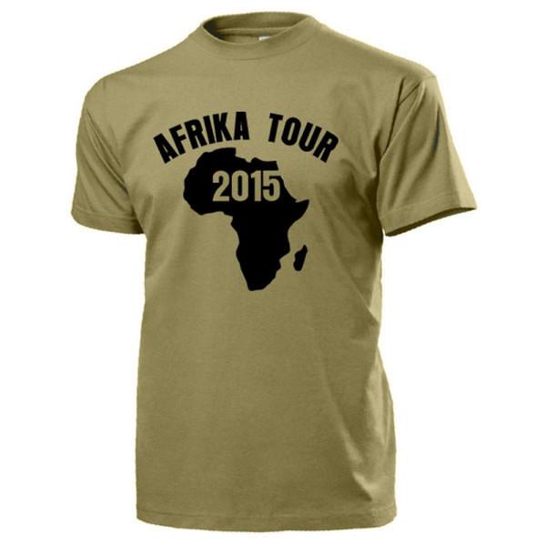 Afrika Tour 2015 Urlaub schwarzer Kontinent Expedition Wüste - T Shirt #14206