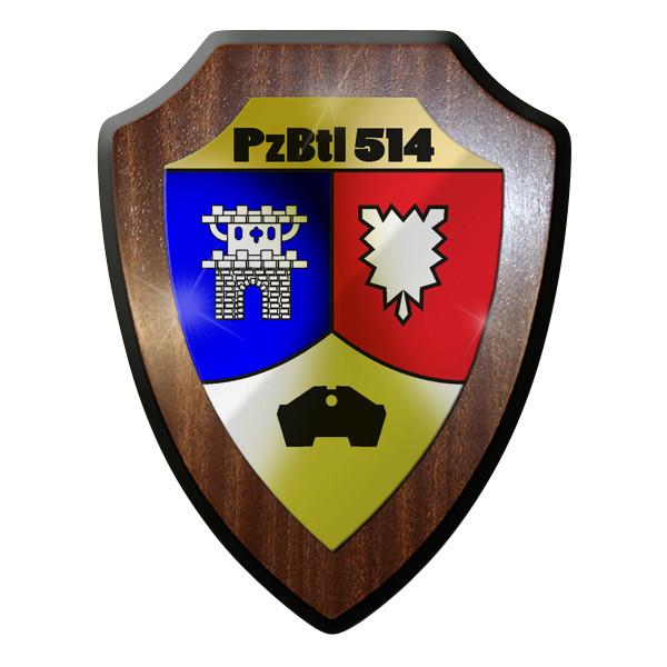 Wappenschild- PzBtl 514 PanzerBataillon Kampfpanzer Leopard Bundeswehr #9291