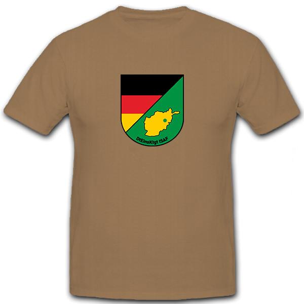 DtEinsKtgt ISAF Deutsches Einsatzkontingent Wappen Militär - T Shirt #5889