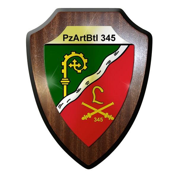 Wappenschild - Panzer Artillerie Bataillon 345 PzArtBtl Bundeswehr #8995