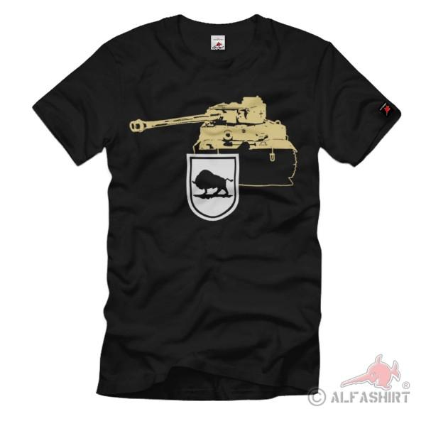 Schwere Abteilung 508 sPzAbt Tiger Militär Kettenfahrzeug Geschütz T Shirt #1313