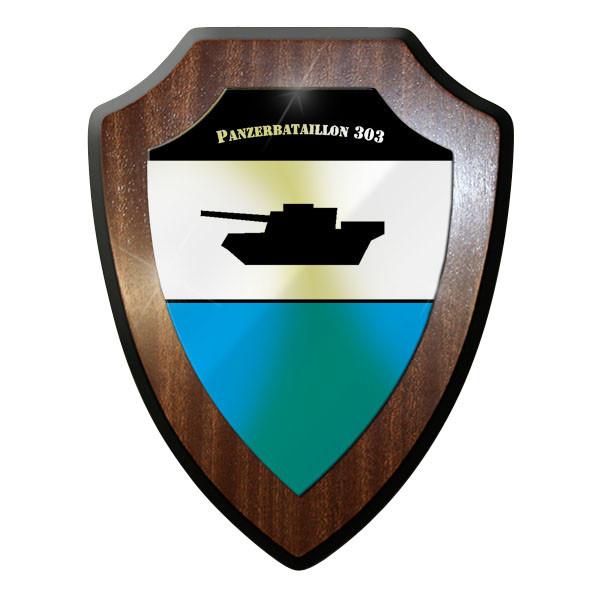 Wappenschild / Wandschild / Wappen - Panzerbataillon PzBtl 3 Bataillon #11640