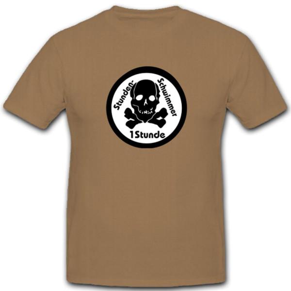 Stundenschwimmer Abzeichen Schwimmen Bundeswehr - T Shirt #4292