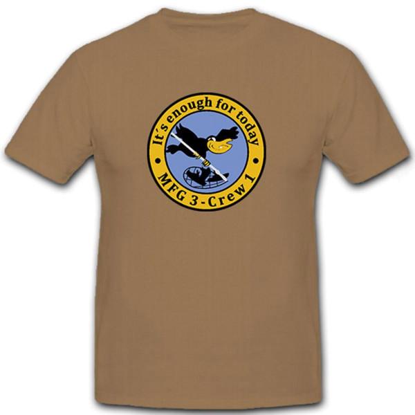 MFG 3 Crew 1 Marinefliegergeschwader Marineflieger - T Shirt #6783