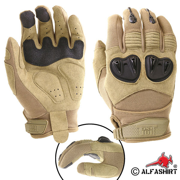 Tactical Gloves Special Forces Ranger sand US Army Navy Seals Combat # 17382