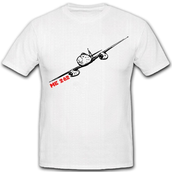Me 262 Flugzeug Flieger Luftwaffe WK Militär Bundeswehr WH T Shirt #2077