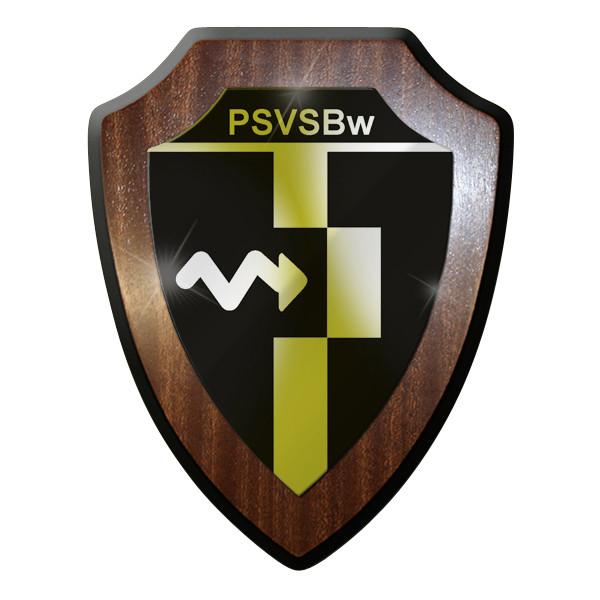 Wappenschild PSVSBw Schule der Bundeswehr für Psychologische Verteidigung #9315