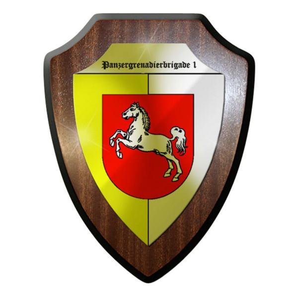 Wappenschild / Wandschild Panzergrenadierbrigade Bundeswehr Bund Militär #8353