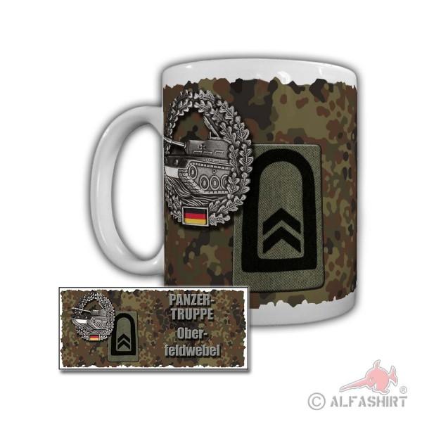 Tasse Panzertruppe Oberfeldwebel PzBtl 3 Hamburg Graf-Goltz-Kaserne #29907