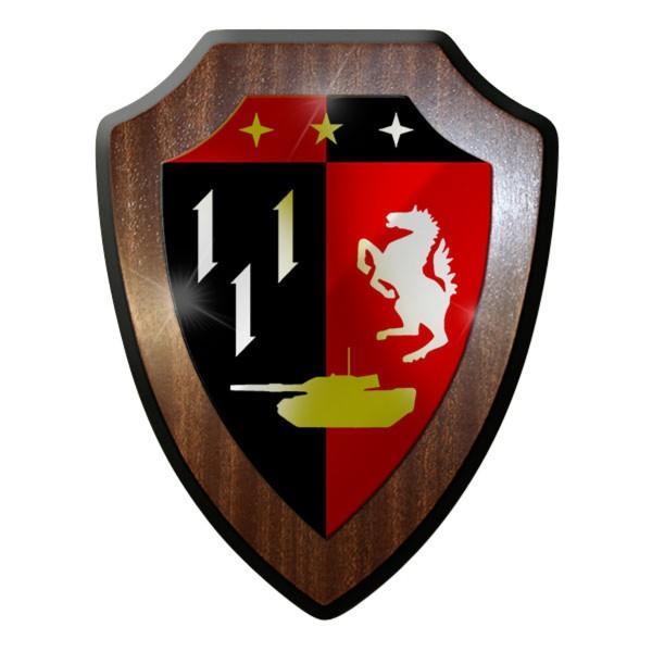 Wappenschild - PzBtl 110 Panzerbataillon 110 später PzBtl 202 #12165