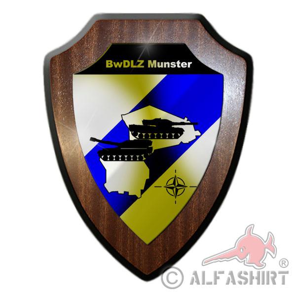 Wappenschild - BwDLZ Munster Bundeswehr Bund Bw Zentrum #10052