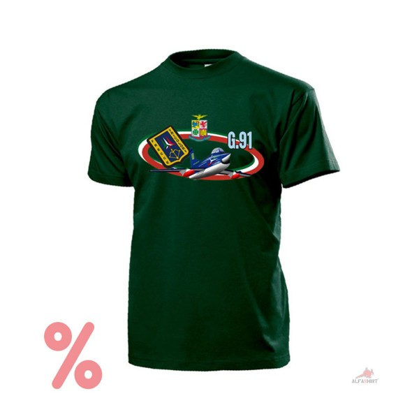 SALE Shirt G91 Frecce Tricolori Aeronautica Militare Italien 313º T-Shirt #99