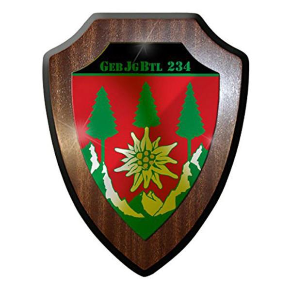 Wappenschild / Wandschild -GebJgBtl 234 Bundeswehr Deutschland Heer #8407