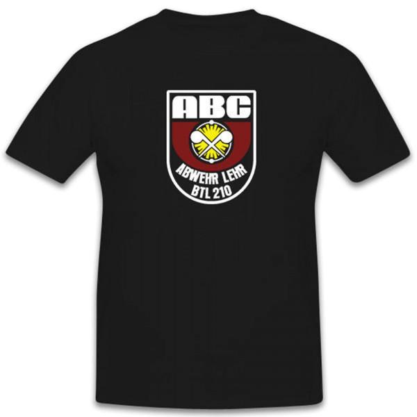 ABCAbwLehrBtl 210 ABC Abwehr Lehr Bataillon Bundeswehr - T Shirt #12646