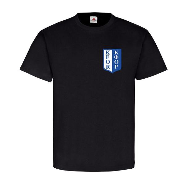 Kosovo Kfor Albanien Serbien Brust Wappen Abzeichen - T Shirt #3889
