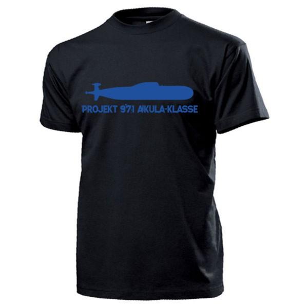 Projekt 971 AKULA Klasse U-Boot Russland Sowjetunion - T Shirt #13195
