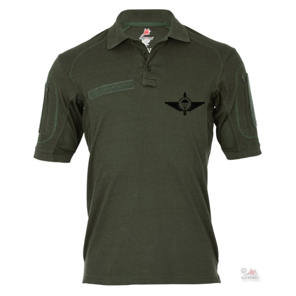 Tactical polo shirt Alfa - EMFV Logo European Paratrooper parachute hunter # 19018